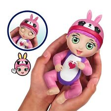 Tiny Toes TICKLISH TESS Baby Moves Pink Bunny New Responds Touch Motion Light
