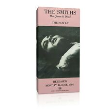 The Smiths 'The Queen is Dead' Promo  20x10 inch Framed Canvas Print
