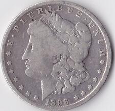 "1896 ""Morgan"" Dollar-STATI UNITI PHILADELPHIA Menta - 0.900 Argento"