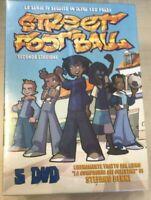 BOX STREET FOOTBALL - Cofanetto seconda stagione, 5 DVD - Nuovo