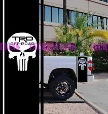TRD Punisher Toyota Bed Stripes Truck Decals Stickers Set of 2 Racing Decals