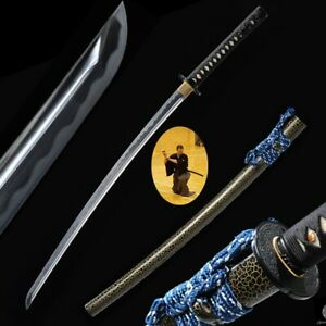 Steel Blade Iaido sword Samurai Sword Nihontou Battle ready training #900