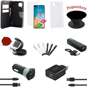 18 teiliges Huawei P40 lite Zubehör Set Paket Tasche Hülle Charger Powerbank