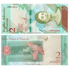 Venezuela 2 Bolivares Soberano 2018 P-New Banknotes New Issue UNC