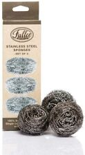Fuller Brush Stainless Steel Sponges Scouring Scrubber Cleaning Wire Pad Pot Pan