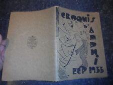 CROQUIS d'Amphi ECP 1933 Paris Ecole d'Ingénieurs 1 An de Caricature à Centrale