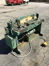 """Pexto 52"""" hydraulic shear"""