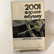 2001 a Space Odyssey: A Novel by Arthur C. Clarke,1968 HC/DJ vtg stanley kubrick