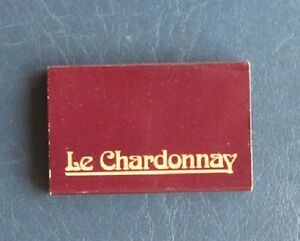 Le Chardonnay Bistro Matchbox Cover--Los Angeles, California
