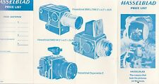 THE HASSELBLAD PRICE LIST FEBRUARY 1971 EDITION