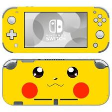Nintendo Switch Lite Console Vinyl Skins Stickers Decals Pokemon Pikachu Anime