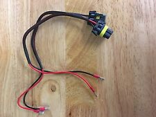 2xUniversal 9006/9005 Fog/Driving Light Female Connector Adapter holder HB4/HB3