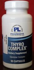 NEW Progressive Labs THYRO COMPLEX for Thyroid Support 90 capsules