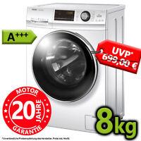 Haier Waschmaschine A+++ 8 kg Frontlader Display Direktantrieb 1400 UpM Inverter