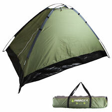 4 Person Dome Tent Green - Summit Camping and Outdoor Sleeping Relaxing Gear