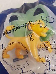 NEW McDonalds Happy Meal #32 SIMBA THE LION KING Walt Disney World 50th