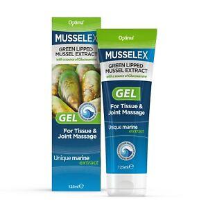 1 pack of Optima Musselex with Glucosamine Massage Gel 125 ml Musselflex