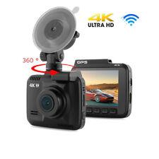4K HD Car DVR WIFI Dash Cam Video Recorder GPS Camera Night Vision G-Sensor