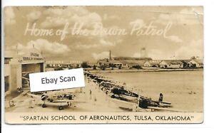 Real Photo Postcard -Spartan School of Aeronautics, Tulsa, Oklahoma, Dawn Patrol
