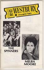 Melba Moore  & The Spinners  Playbill 1977 Westbury Music Fair