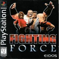 Fighting Force PlayStation 1 PS1 Complete *CLEAN VG