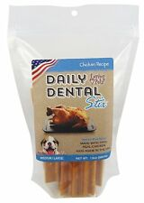 Loving Pets 5051 Dental Stix Chicken Recipe for Dogs, Large 13 oz