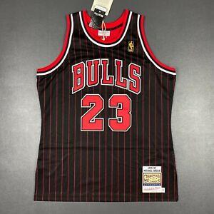 100% Authentic Michael Jordan Mitchell & Ness 96 97 Bulls Jersey Size 44 L Mens