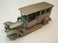 Danbury Mint Rolls Royce 1911 The Silver Ghost 40/50 HP Limousine Pewter Model