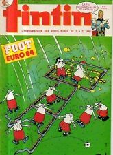TINTIN n°457 foot euro 84 la fin surprenante de caragal