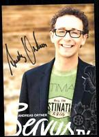 Andreas Ortner Servus TV Autogrammkarte Original Signiert ## BC 16070