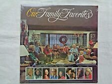Billy Graham Presents Our Family Favorites 1978 Word WTV-512 Still Sealed LP NM