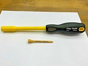 "Mac Tools NICE 5/16"" SAE Yellow Handle NON-CONDUCTIVE Nut Driver 1000V  ND516I"
