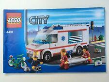 LEGO 4431 Ambulance, Instruction Manual Only