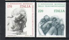 ITALY MNH 1979 SG1616-1617 3RD WORLD TELECOMMUNICATIONS EXHB