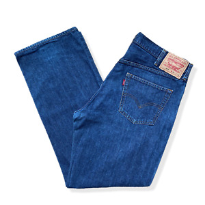 Vintage LEVIS 511 Jeans | W38 L34 | Blue Straight Fit Zip Fly BIG TALL