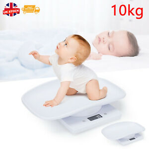 Digital Baby Weighing Weight Scale LCD Electronic 10kg Infant Measure Scales UK
