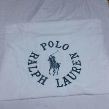 VTG Polo Ralph Lauren Beach Towel Sport Bear Bath 90s Riviera Spell Out HI Tech