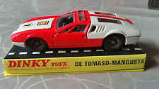 Dinky Toys 187 De Tomaso - Mangusta 1/43 MIB