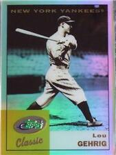 LOU GEHRIG ETOPPS IN HAND CHROME-LIKE YANKEES