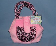 Webkinz NWT Pink and Leopard Pet Carrier *Shipped FAST and with a SMILE!!* =D