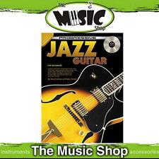 Progressive Jazz Guitar Lesson Book with CD Brand New