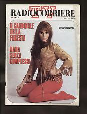 RADIOCORRIERE 22/1969 BIAFRA PAUL EMILE LEGER MAURO ZANASI NADA MANZU' PROVOLINO