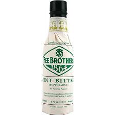 Fee Brothers Mint Cocktail Bitters - 5 oz - Drink Mixology - Bar Pub Flavor Mix