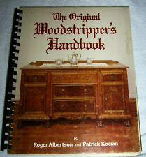 THE ORIGINAL WOODSTRIPPERS HANDBOOK Softcover 1983 RARE