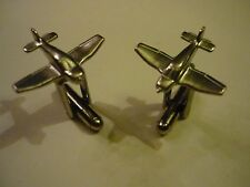 Made From Fine English Modern Pewter Robin Dr400 Code c87 Pair of Cufflinks