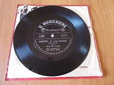7'' flexi JULA DE PALMA - AMARE (è una favola) allegato a Il Musichiere