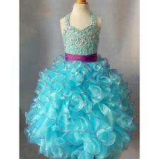 Jenniferwu Infant/toddler/kids/baby/children Girl's Pageant/prom Dress G053A