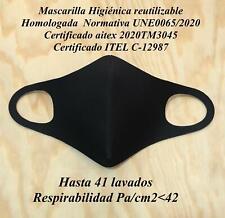 Mascarilla Homologada normativa UNE0065/2020 adulto y niño con certificado