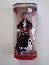 Chilean 1997 Dolls of the World Barbie Collector Edition  NRFB - #18559