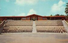 GRANDVIEW, WV  West Virginia   CLIFFSIDE AMPHITHEATER View From Stage   Postcard